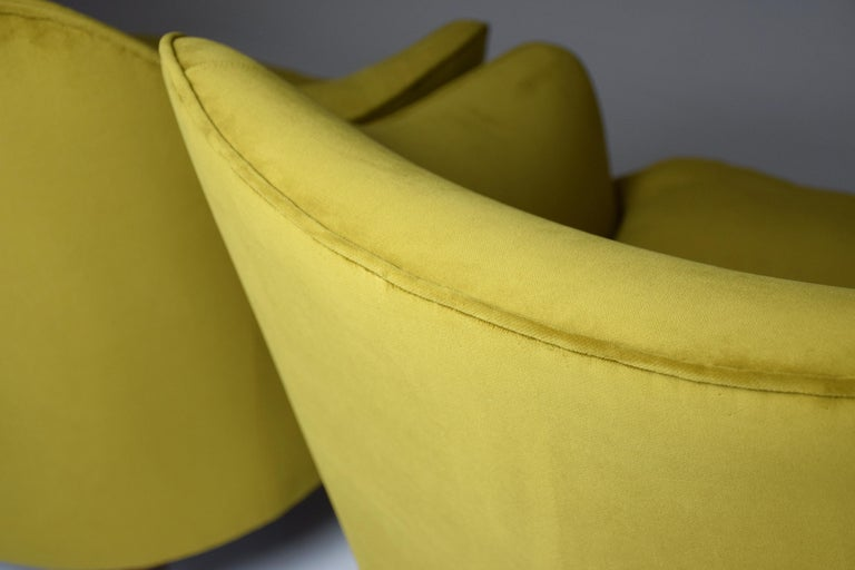 Pair of Italian Armchairs by Gio Ponti for Casa e Giardino, 1930s For Sale 4