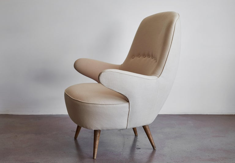 Pair of Italian Armchairs For Sale 9