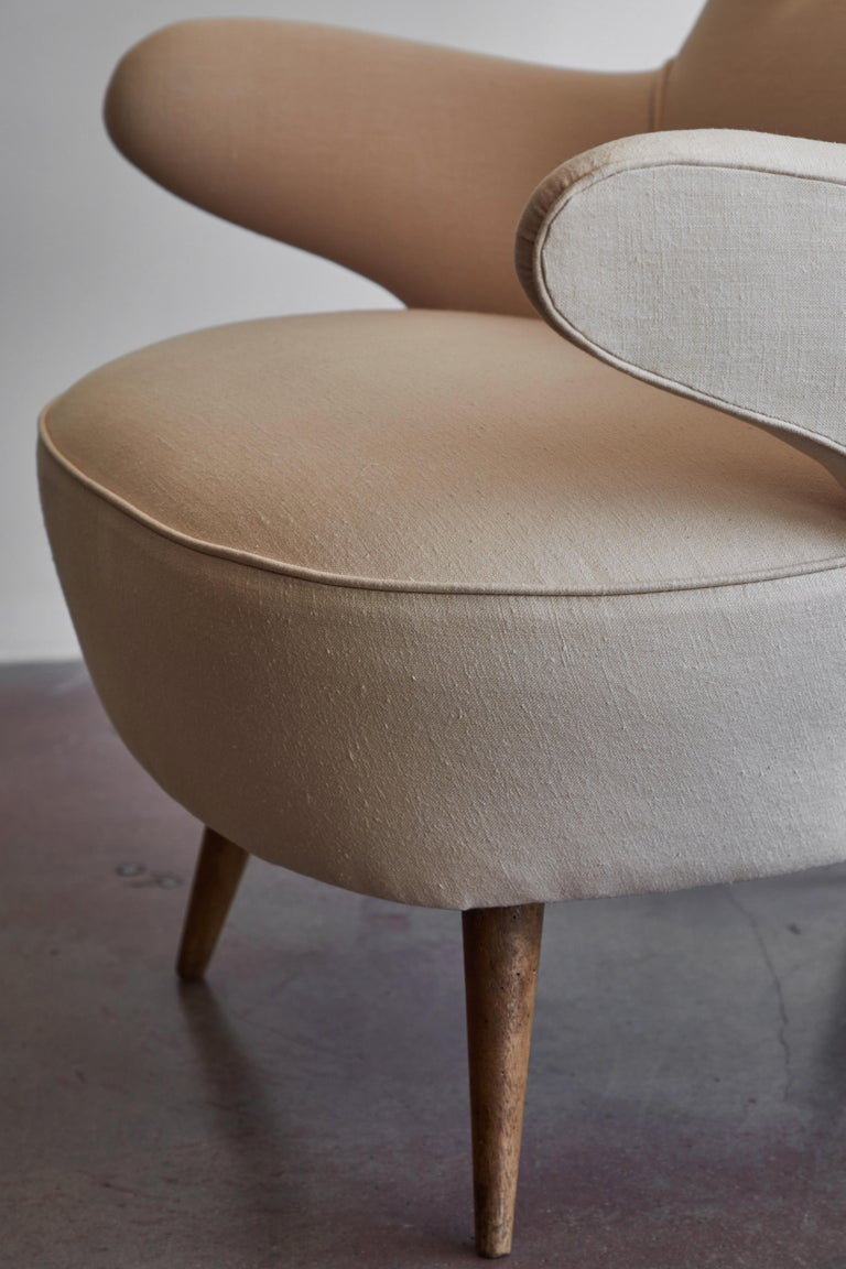 Pair of Italian Armchairs For Sale 11