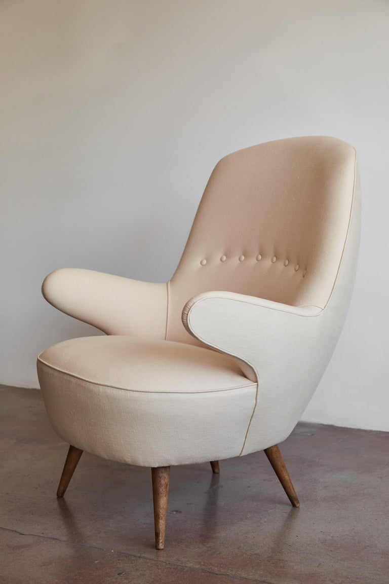 Pair of Italian Armchairs For Sale 3