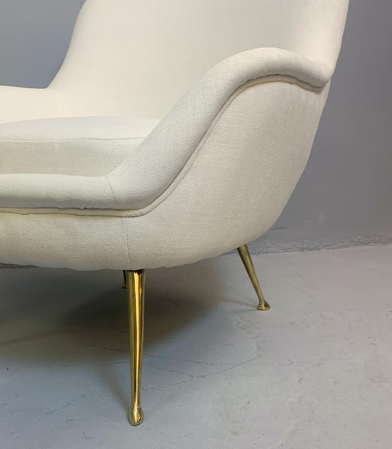 Pair of Italian Armchairs For Sale 2