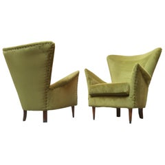 Pair of Italian Armchairs from 1950s