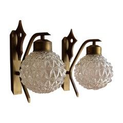 Pair of Italian Art Deco Applique