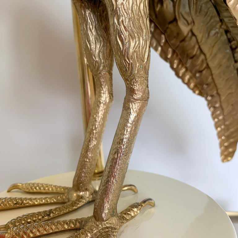 Pair of Italian Bird of Prey Table Lamps, 1960s For Sale 6