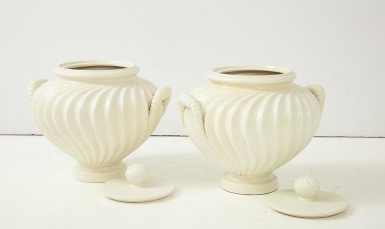 Pair of Italian Ceramic Vases 12