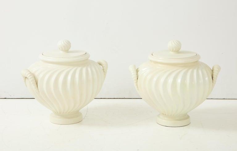 Pair of Italian Ceramic Vases 2