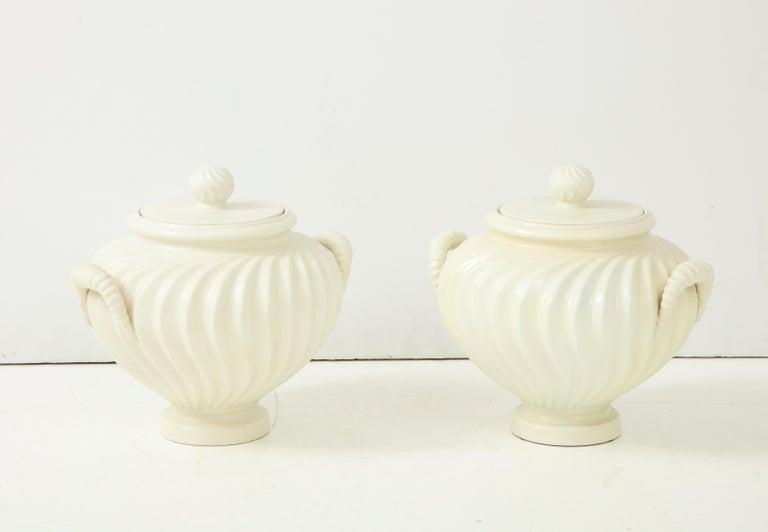 Pair of Italian Ceramic Vases 3