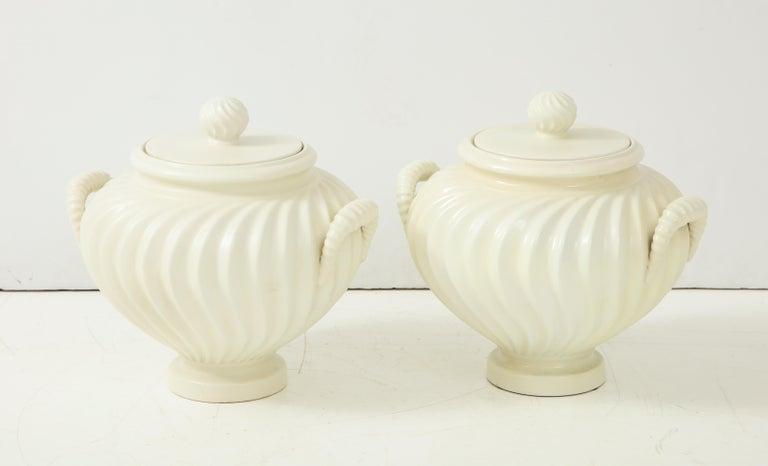 Pair of Italian Ceramic Vases 4