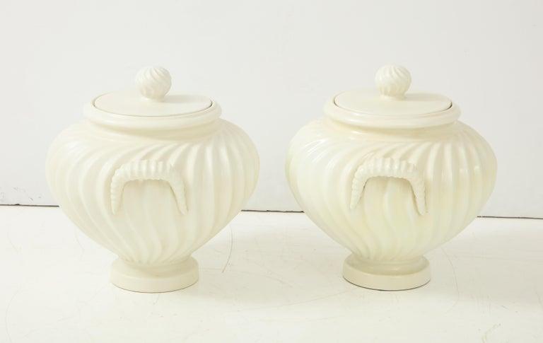 Pair of Italian Ceramic Vases 5