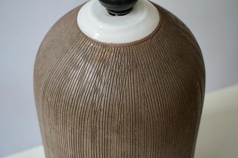 Pair of Italian Ceramic Table Lamps For Sale 9