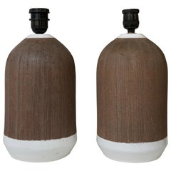 Pair of Italian Ceramic Table Lamps