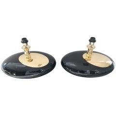 Pair of Italian Ceramic Table Lamps