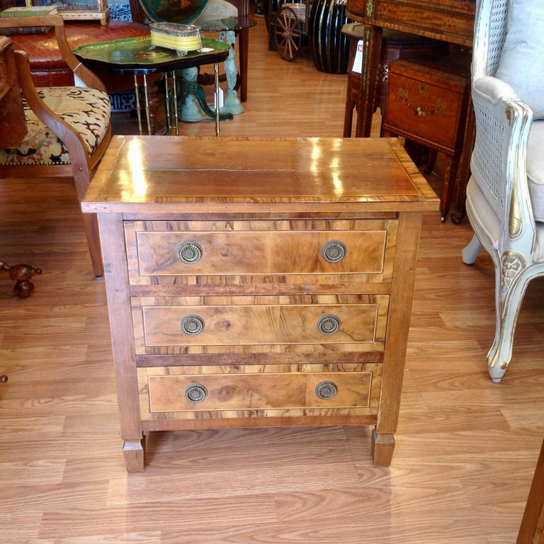 Pair of Italian Chair Side Chests For Sale 1