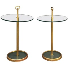 Pair of Italian Circular Cocktail Tables