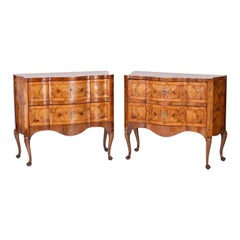 Pair of Italian Commodes or Chests