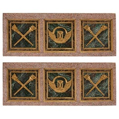 Pair of Italian Early 19th Century Louis XVI Style Wall Panels