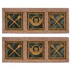 Pair of Italian Early 19th Century Louis XVI Style Wall Panels