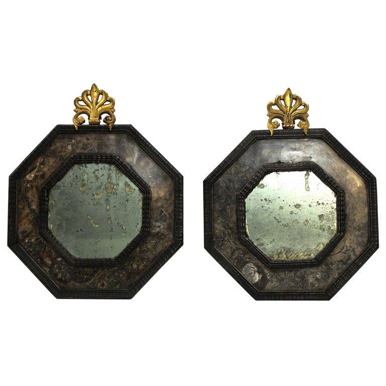 Pair of Italian Early 19th Century Mirrors