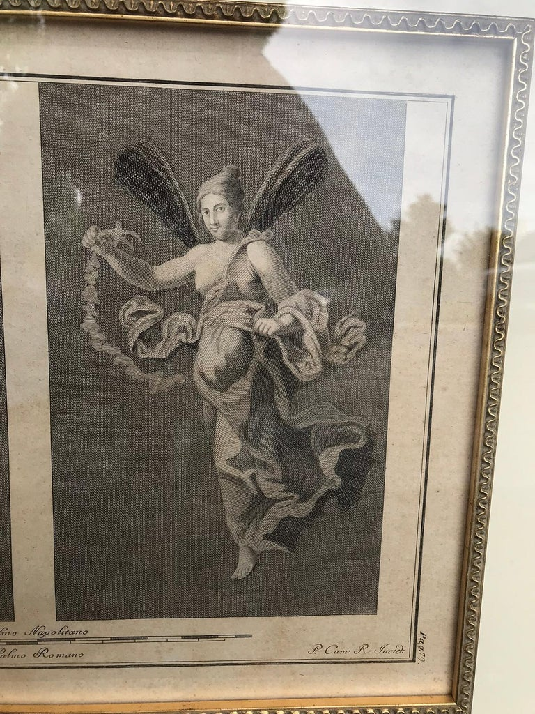 Pair of Italian Engravings of Ruins of Herculaneum by Giovanni Morghen For Sale 6