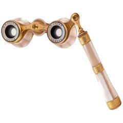 Pair of Italian Gilt Metal Opera Glasses