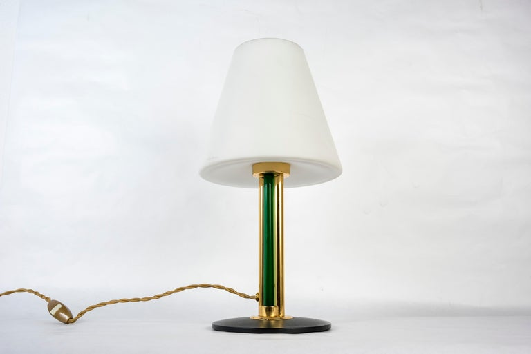 Late 20th Century Pair of Italian Lamps in the Manner of Julio Rida For Sale