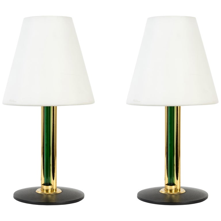 Pair of Italian Lamps in the Manner of Julio Rida For Sale