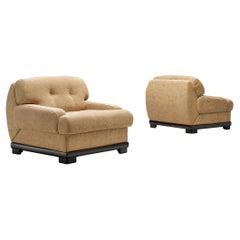 Pair of Italian Lounge Chairs