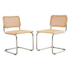 Pair of Italian Marcel Breuer for Cidue Cesca Chairs