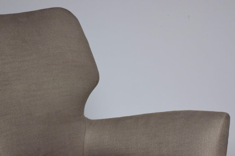 Pair of Italian Midcentury Armchairs, 1950s   For Sale 2