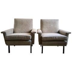 Pair of Italian Midcentury Armchairs, 1960s