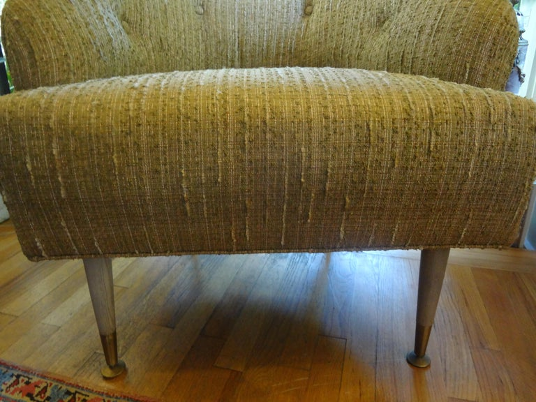 Pair of Italian Midcentury Lounge Chairs Inspired by Gio Ponti For Sale 3