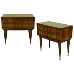 Pair of Italian Midcentury Nightstands