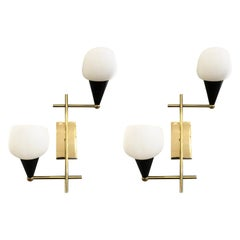 Pair of Italian Midcentury Wall Lights