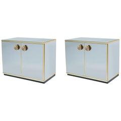 Pair of Italian Modernist Cabinets