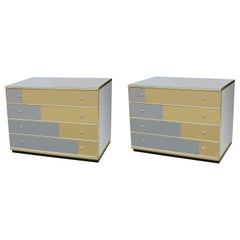 Pair of Italian Modernist Chests