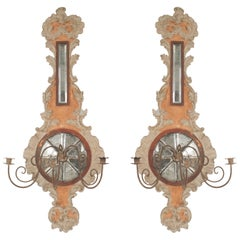 Pair of Italian Neo-Classic '19th-20th Century' Wall Sconces