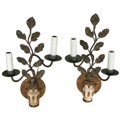 Pair of Italian Neoclassic Wall Sconces