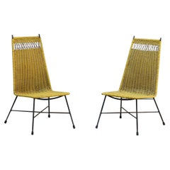 Pair of Italian Outdoor Vintage Chairs, c. 1950
