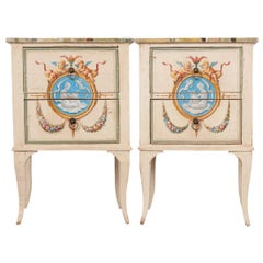 Pair of Italian Painted Chests