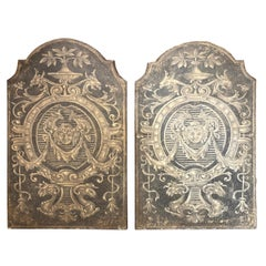 Pair of Italian Painted Neoclassical Panels