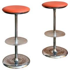 Pair of Italian Postmodern Bar Stools