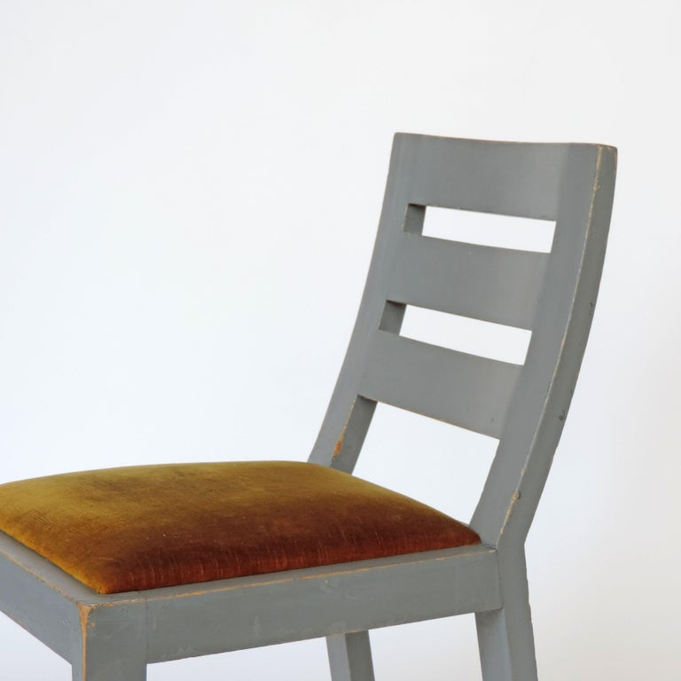 Pair of Italian Rationalist Movement Chairs, Italy, 1930s For Sale 3