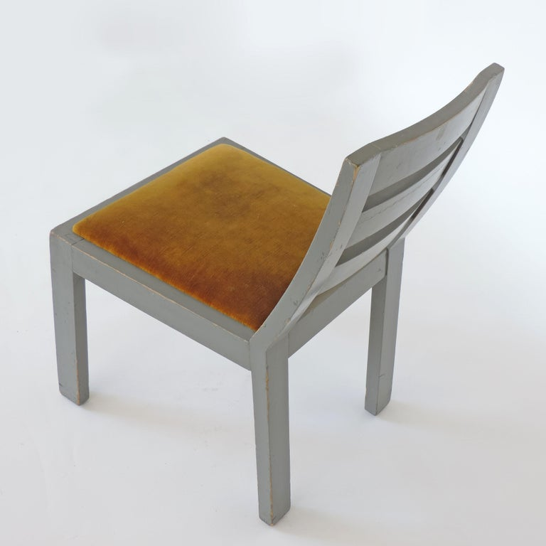 Pair of Italian Rationalist Movement Chairs, Italy, 1930s For Sale 4