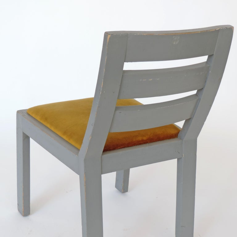 Pair of Italian Rationalist Movement Chairs, Italy, 1930s For Sale 7