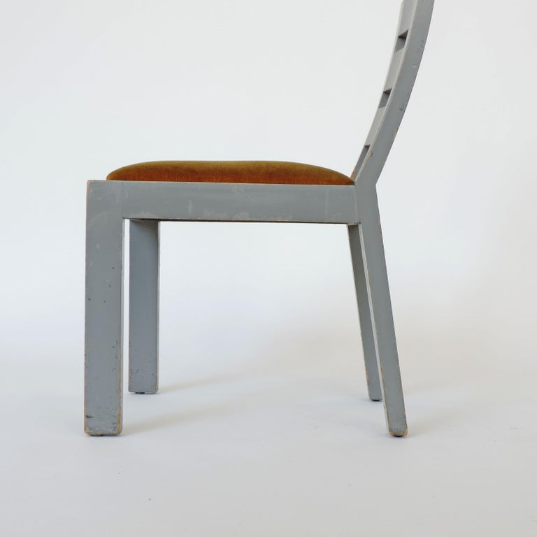 Mid-20th Century Pair of Italian Rationalist Movement Chairs, Italy, 1930s For Sale