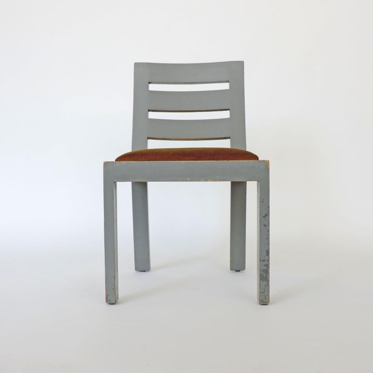 Pair of Italian Rationalist Movement Chairs, Italy, 1930s For Sale 1