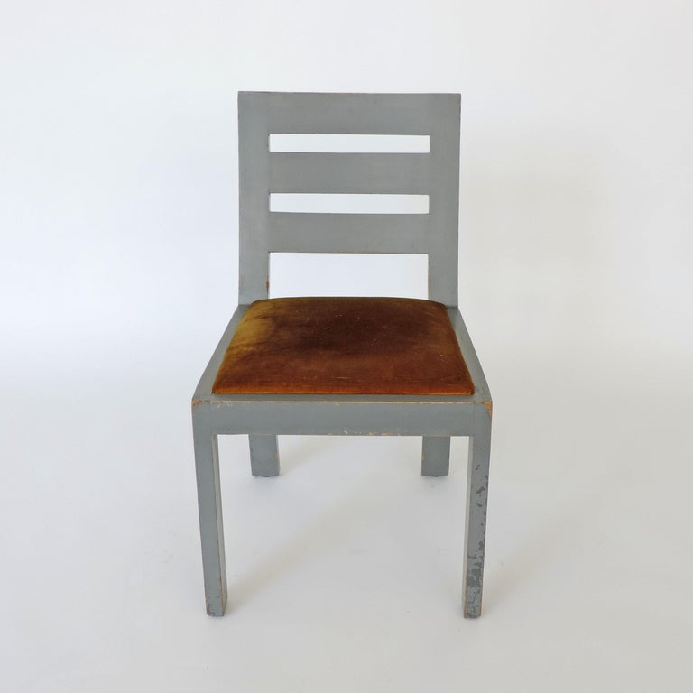 Pair of Italian Rationalist Movement Chairs, Italy, 1930s For Sale 2