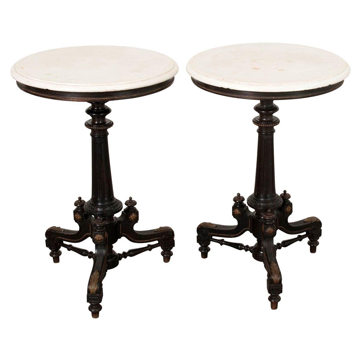 Pair of Italian Renaissance Revival Side Tables