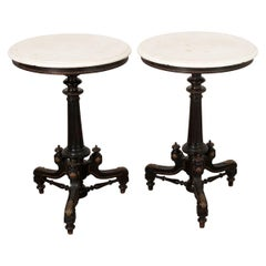 Pair of Italian Renaissance Revival Side Tables