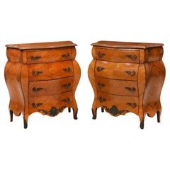 Pair of Italian Rococo Style Night Stands